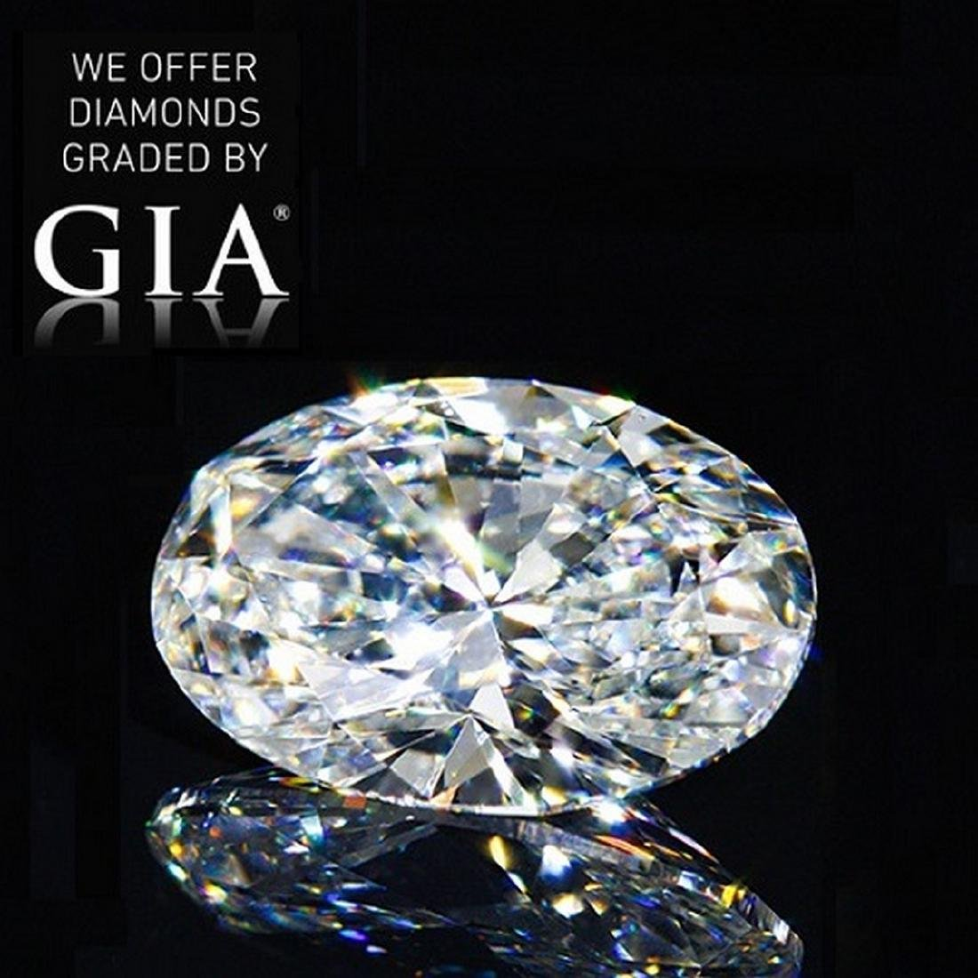 4.02 ct, Color D/VS2 , Oval cut Diamond