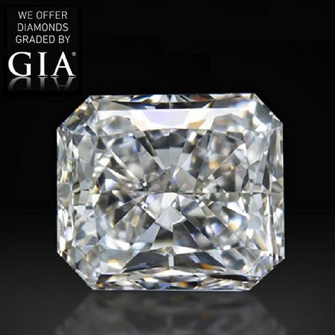 3.02 ct, Color E/VS2 , Radiant cut Diamond