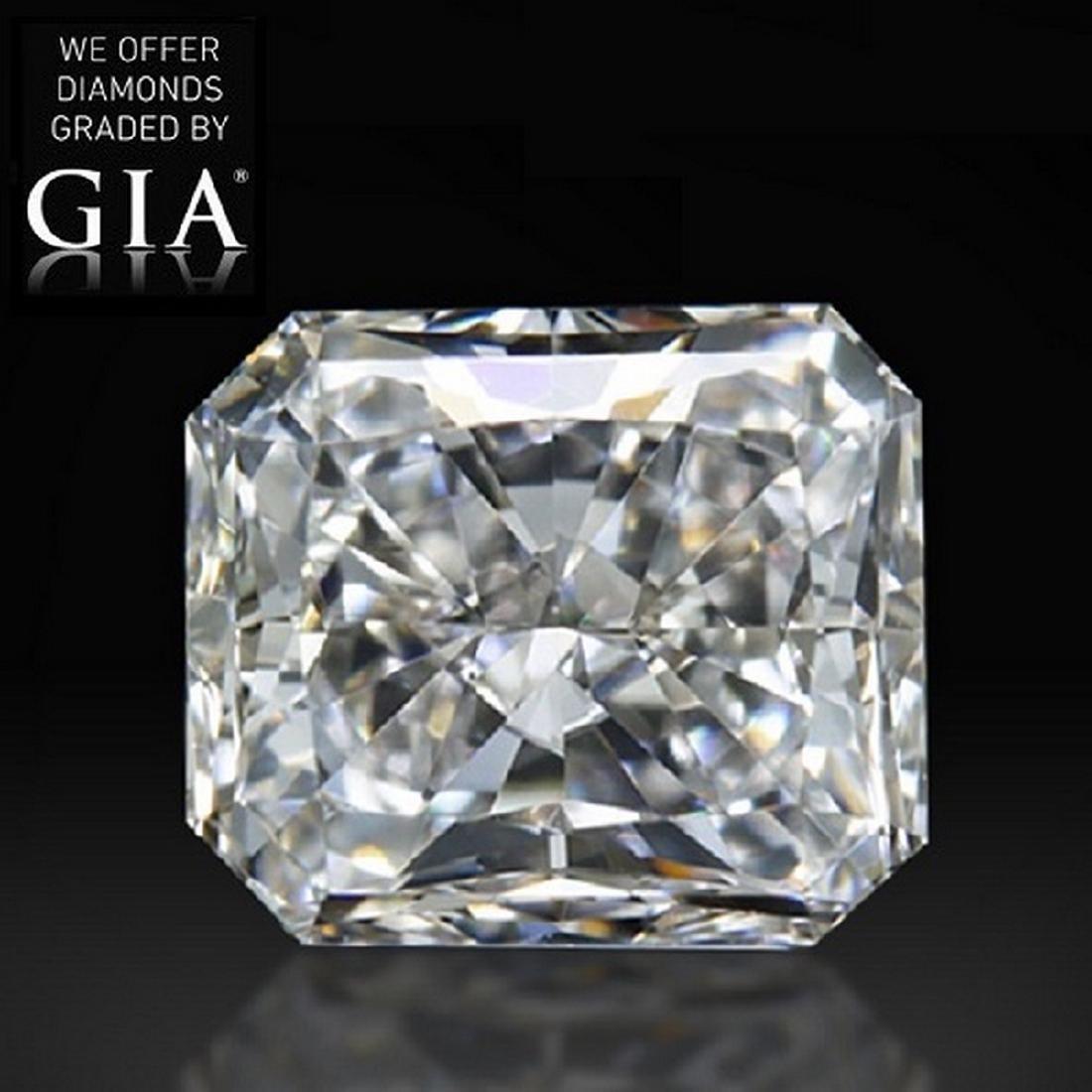 3.02 ct, Color I/VVS2 , Radiant cut Diamond