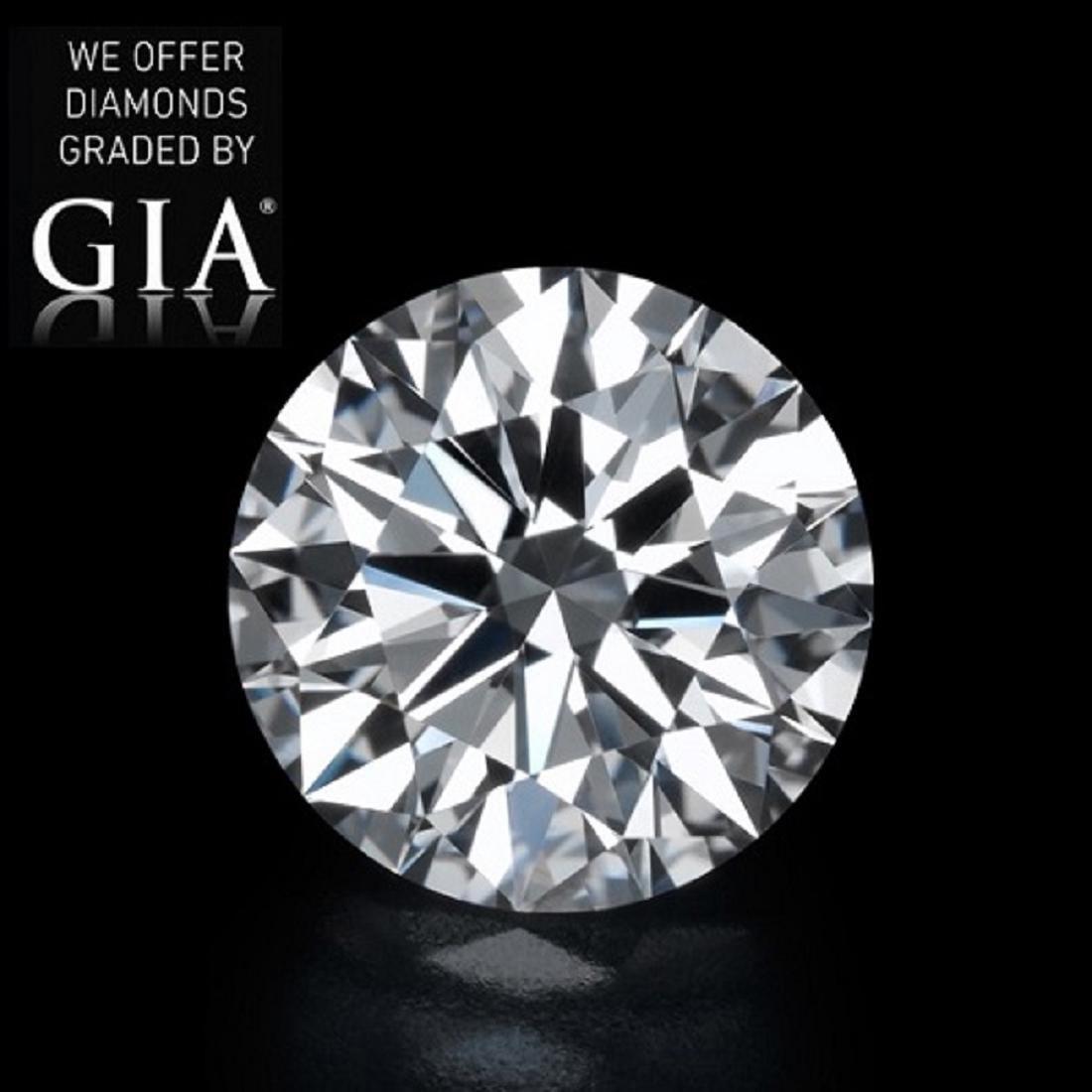 5.02 ct, Color I/VVS2, Round cut Diamond