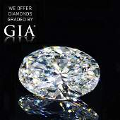 9.00 ct, Color F/VVS2, Oval cut Diamond