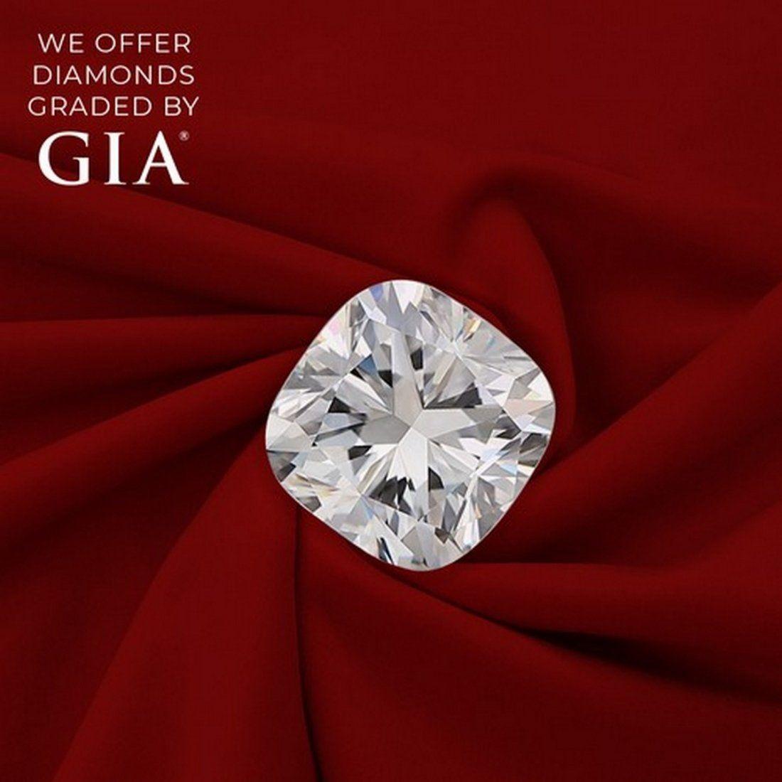 3.01 ct, Color F/VVS2, Cushion cut Diamond