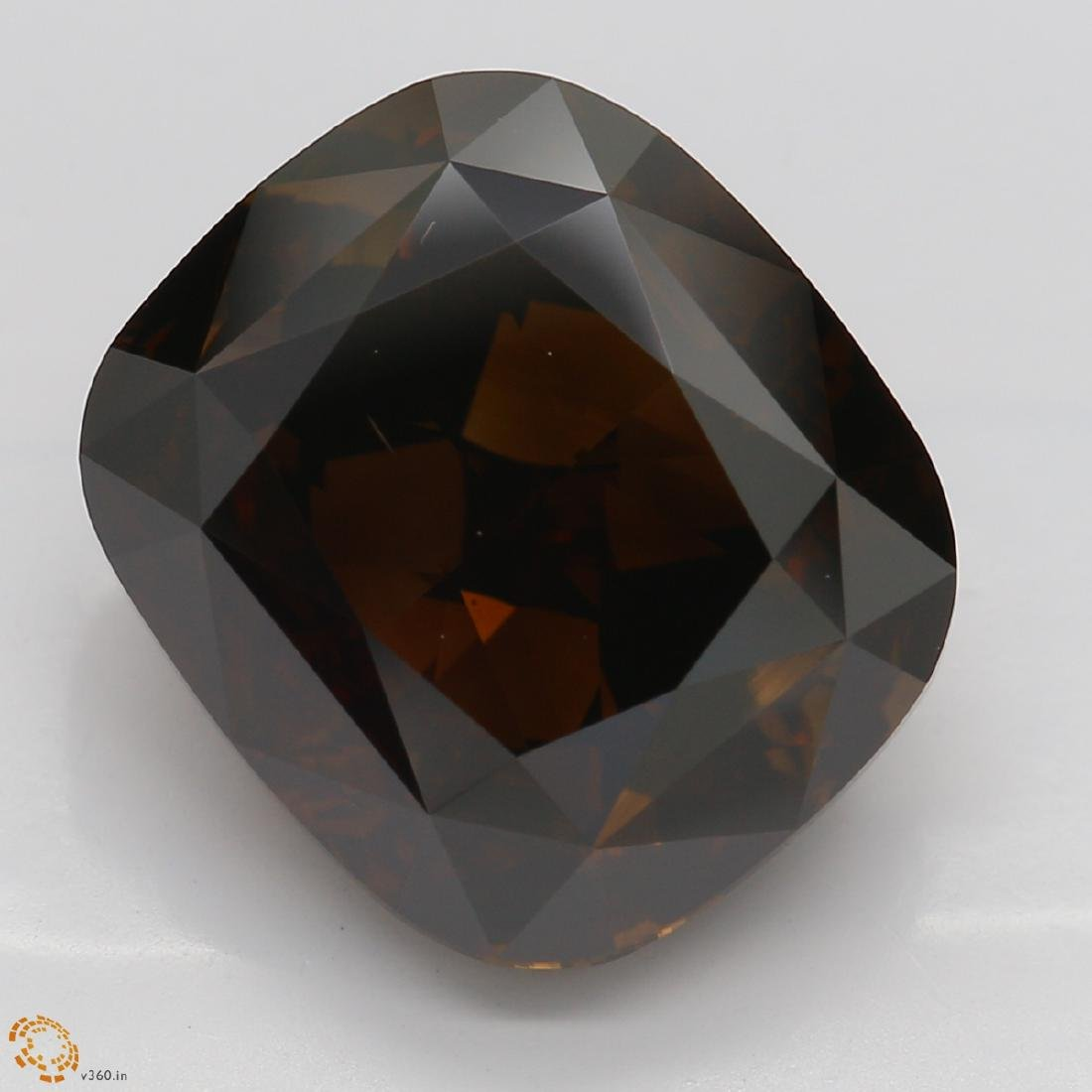 7.48 ct, Brown/VS2, Cushion cut Diamond