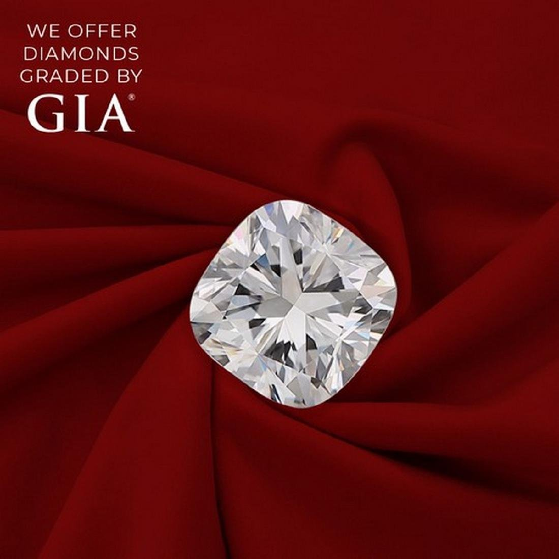 2.51 ct, Color F/VVS1, Cushion cut Diamond