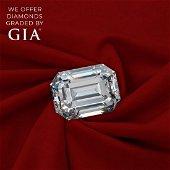 2.01 ct, Color E/VS2, Emerald cut Diamond