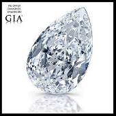 5.26 ct, Color E/VVS1, Pear cut Diamond