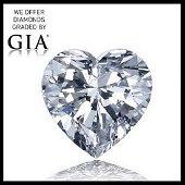 5.09 ct, Color I-VVS2, Heart cut Diamond