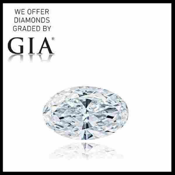 4.02 ct, Color F-VVS2, Oval cut Diamond