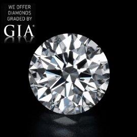 7.03 ct, Color E-VVS1, Round cut Diamond