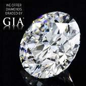 2.01 ct, Color F/VVS2, Round cut Diamond