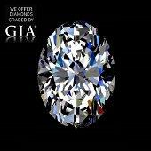 5.02 ct, Color E/VS1, Oval cut Diamond