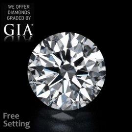 21.11 ct, Color D/VVS1 , Round cut Diamond