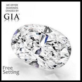 20.15 ct, Color D/VS1, Oval cut Diamond