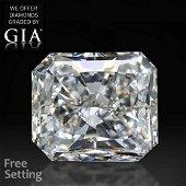 6.11 ct, Color D/VS2, Radiant cut Diamond