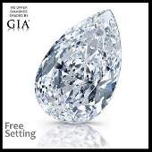 2.01 ct, Color E/VVS1, Pear cut Diamond