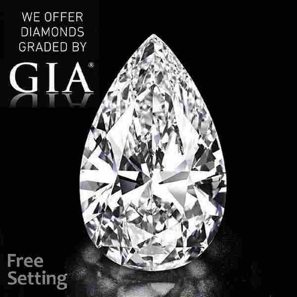2.00 ct, Color E/VVS1, Pear cut Diamond