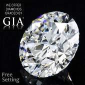 334 ct Color GVVS1 Round cut Diamond