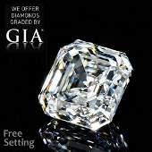 3.13 ct, Color D/VVS2, Sq. Emerald cut Diamond