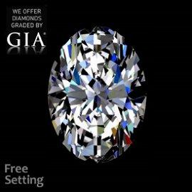 13.30 ct, Color D/VVS2, Oval cut Diamond