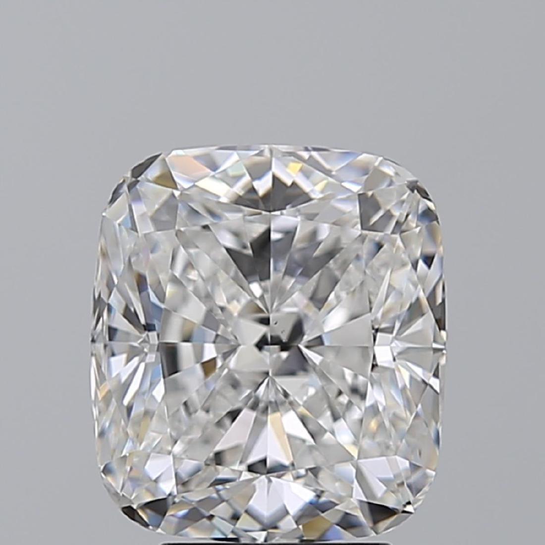 4.02 ct, Color E/VS1, Cushion cut Diamond - 2
