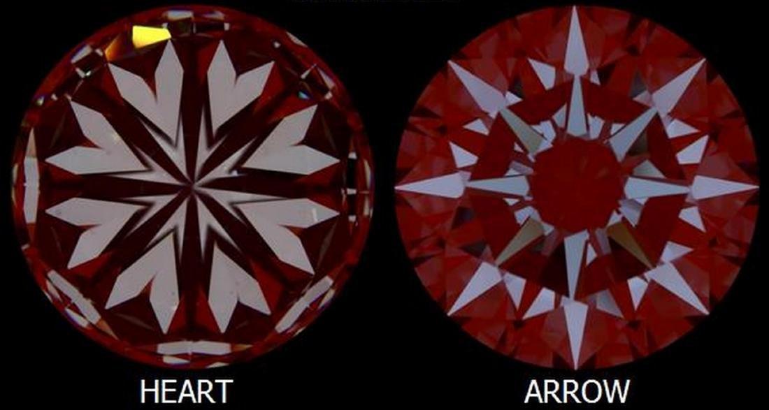 3.50 ct, Color F/IF, Round cut Diamond - 4