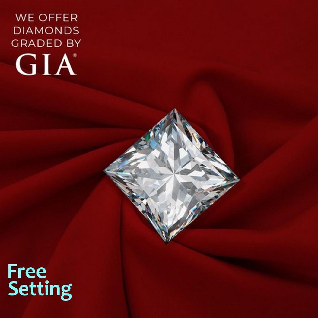 2.01 ct, Color F/VS2, Princess cut Diamond