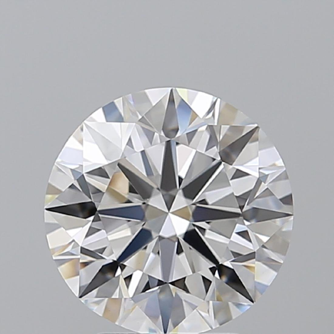 3.05 ct, Color D/VS1, Round cut Diamond - 2