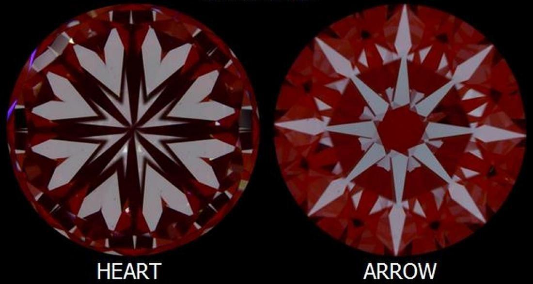 3.05 ct, Color D/VS1, Round cut Diamond - 4