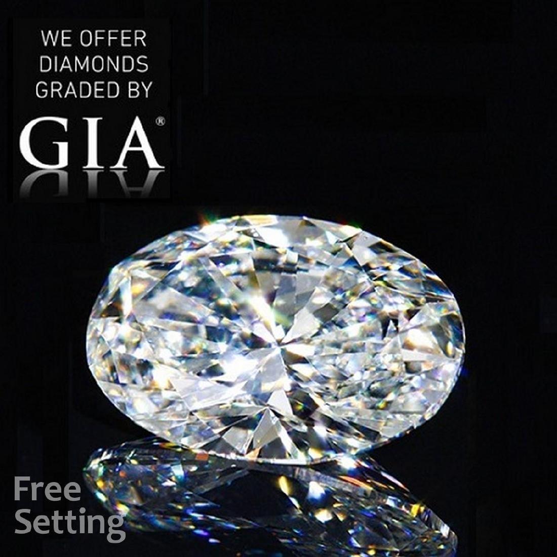 6.01 ct, Color G/VS1, Oval cut Diamond