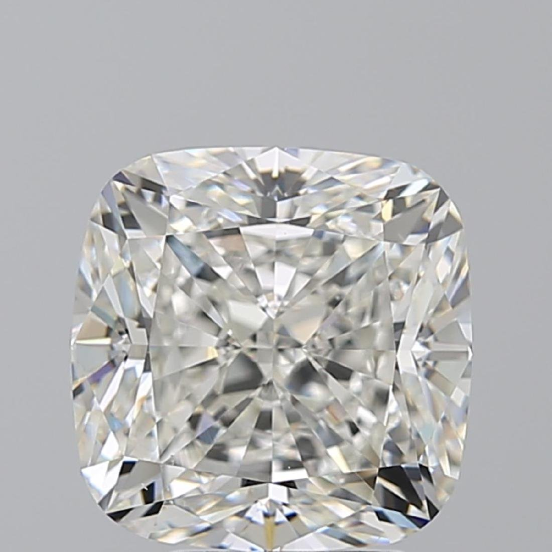 5.01 ct, Color I/VS2, Cushion cut Diamond - 2