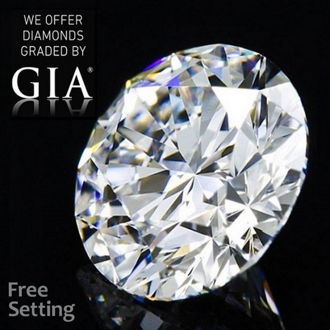 8.01 ct, Color D/FL, Round cut Diamond
