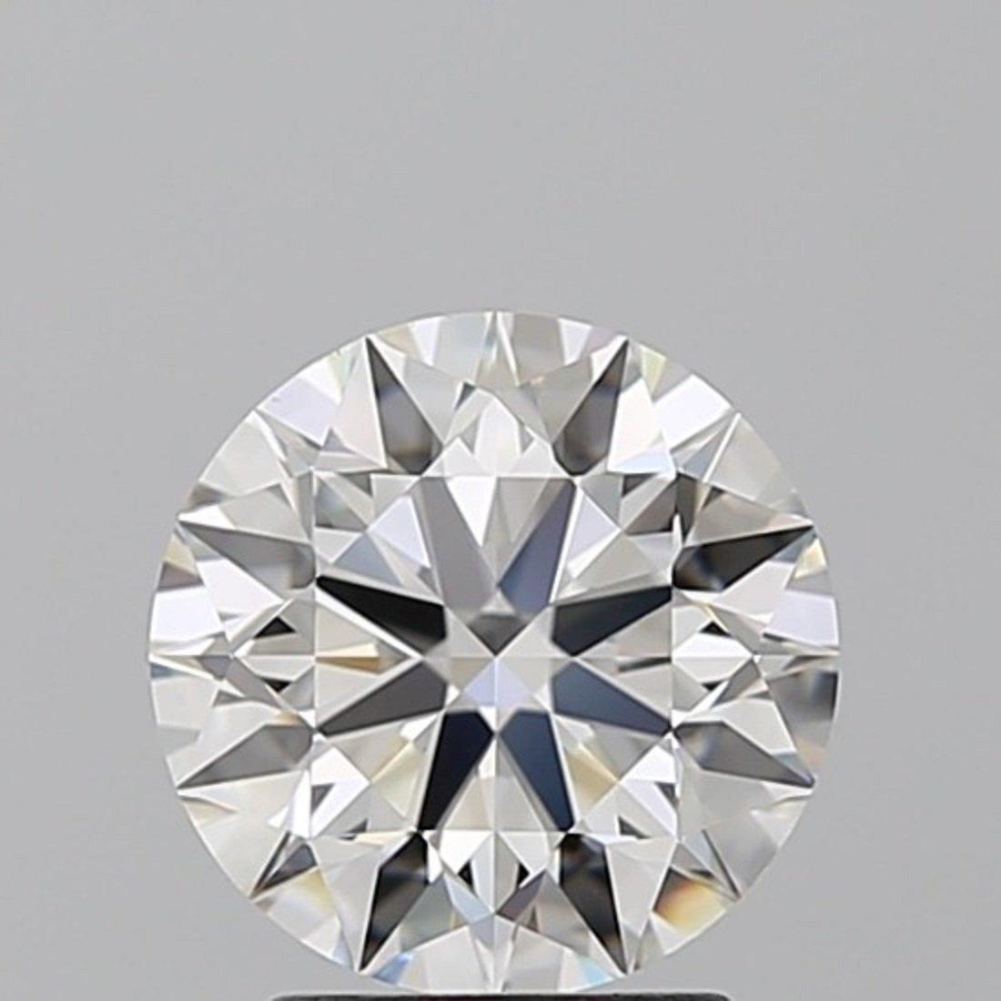 4.02 ct Round cut Diamond Pair - 2