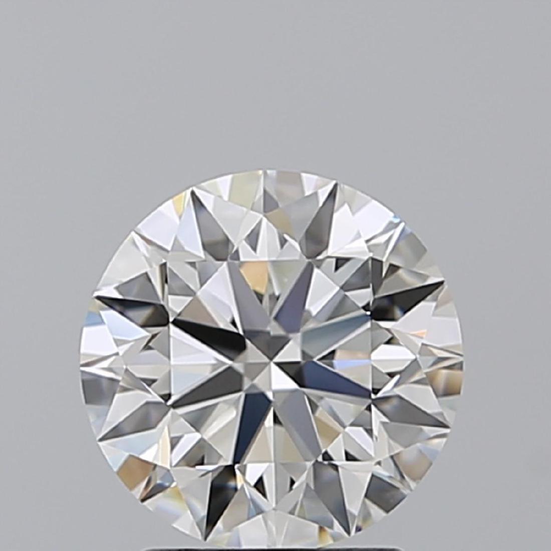 4.02 ct Round cut Diamond Pair - 3