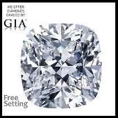 302 ct Color DVS1 Cushion cut Diamond