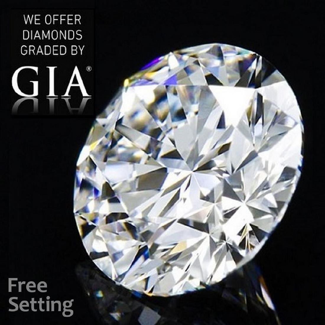 5.06 ct, Color E/VVS1, Round cut Diamond
