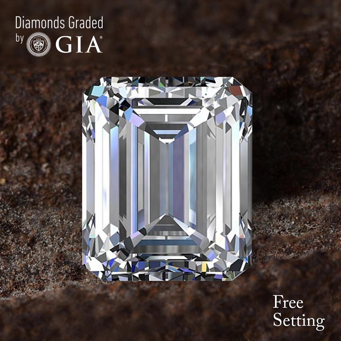3.03 ct, Color D/FL, Emerald cut Diamond