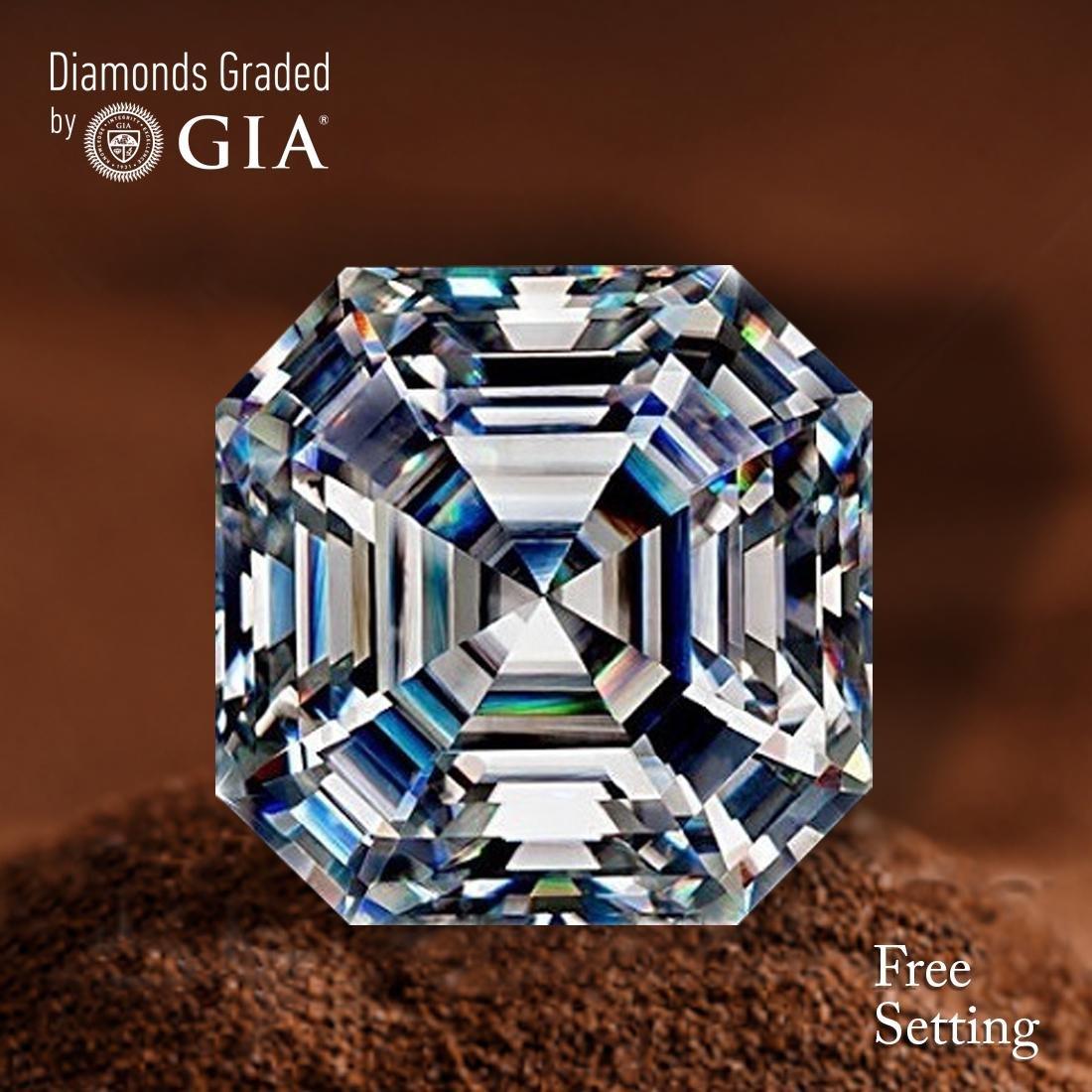 3.14 ct, Color I/IF, Sq. Emerald cut Diamond