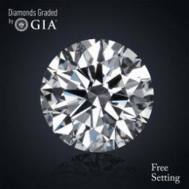 2.01 ct, Color D/VVS1, Round cut Diamond 39% Off Rap