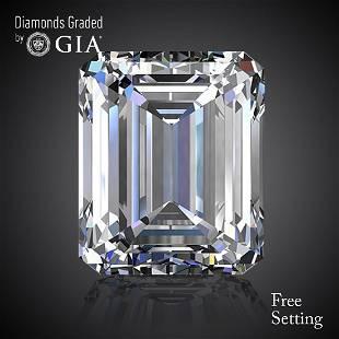 101 ct Color GVVS2 Emerald cut Diamond 53 Off Rap