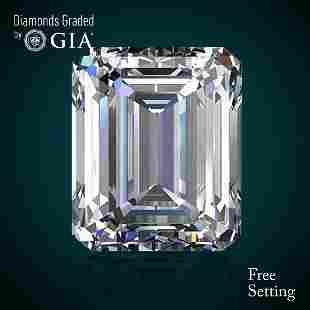101 ct Color EVS1 Emerald cut Diamond 48 Off Rap