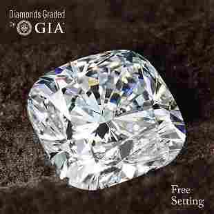 152 ct Color DVVS2 Cushion cut Diamond 67 Off Rap