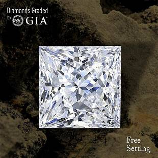 101 ct Color GVS1 Princess cut Diamond 44 Off Rap