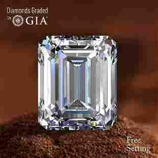 103 ct Color HVS1 Emerald cut Diamond 47 Off Rap