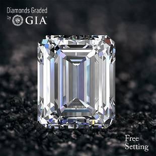 140 ct Color DVVS1 Emerald cut Diamond 47 Off Rap