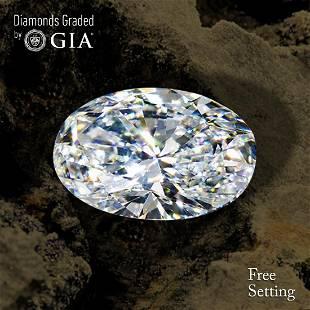100 ct Color FVS1 Oval cut Diamond 46 Off Rap