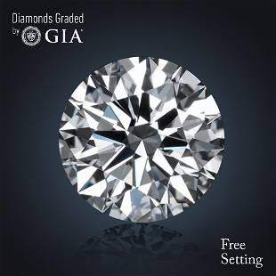 460 ct Color GVS2 Round cut Diamond 42 Off Rap