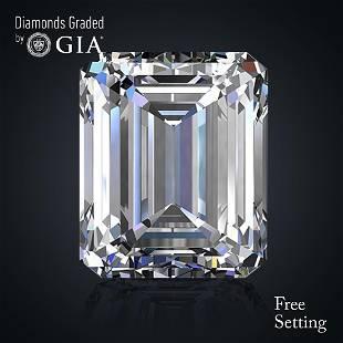 501 ct Color HVS1 Emerald cut Diamond 44 Off Rap