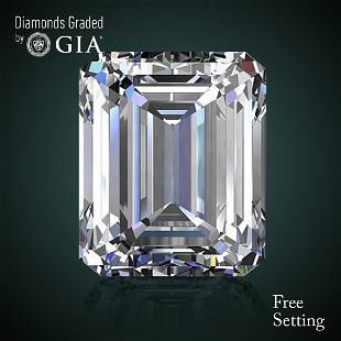 504 ct Color HVVS2 Emerald cut Diamond 44 Off Rap