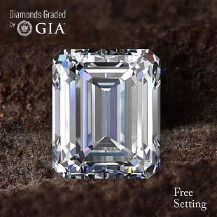 104 ct Color DVS2 Emerald cut Diamond 48 Off Rap
