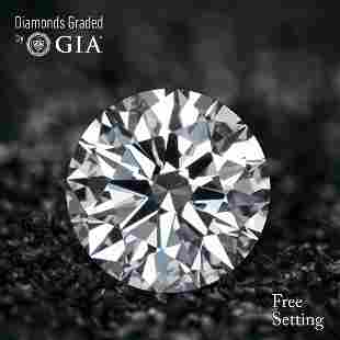 202 ct Color GVVS1 Round cut Diamond 45 Off Rap